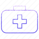 bag, equipment, health, healthcare, hospital, medical, medicine icon