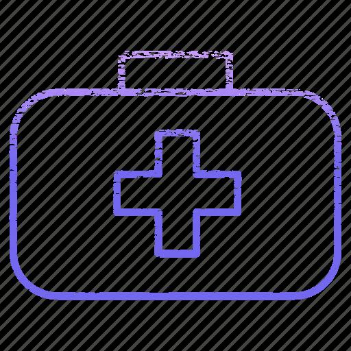 bag, equipment, health, healthcare, hospital, medical, medicine icon