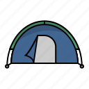 adventure, camp, camping, outdoor, recreation, tent, vacation icon