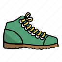 boot, camping, foot, outdoor, shoes, travel, trip icon