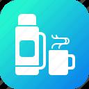 coffee, drink, hot, mug, tea, thermos