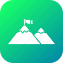 atmosphere, climb, forest, ice, mountain, nature, side icon