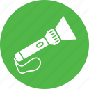 flash, flashlight, light, tool, torch icon