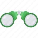 binocular, binoculars, explore, find, glasses, search, view icon