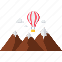 air balloon, hot air balloon, paragliding, flying, glider, parachute, skydiving