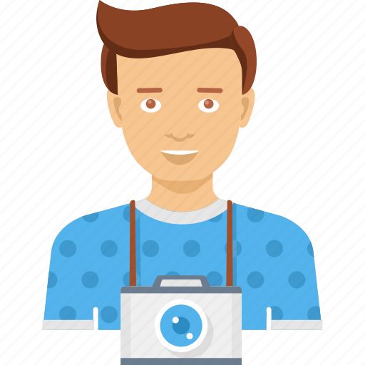 camera, cameraman, digital, photo, photographer, photography, video icon