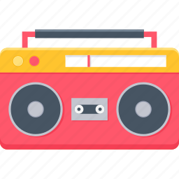 audio, cassette, music, record, recorder, tape, taperecorder icon