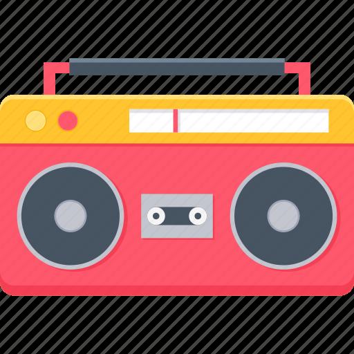 audio, cassette, music, record, recorder, tape, taperecorder icon