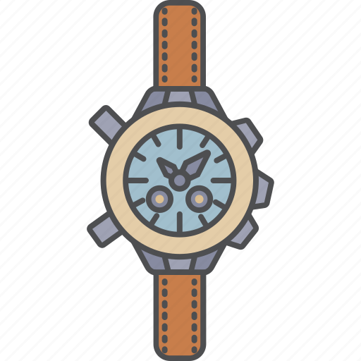 camping, tourism, travel, watches icon