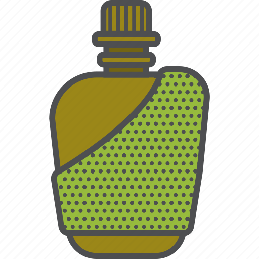 camping, flask, outdoor, travel icon