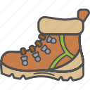 boots, camping, hiking, vacation