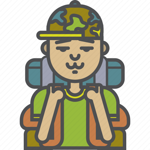 Camping, tourism, tourist, travel icon - Download on Iconfinder