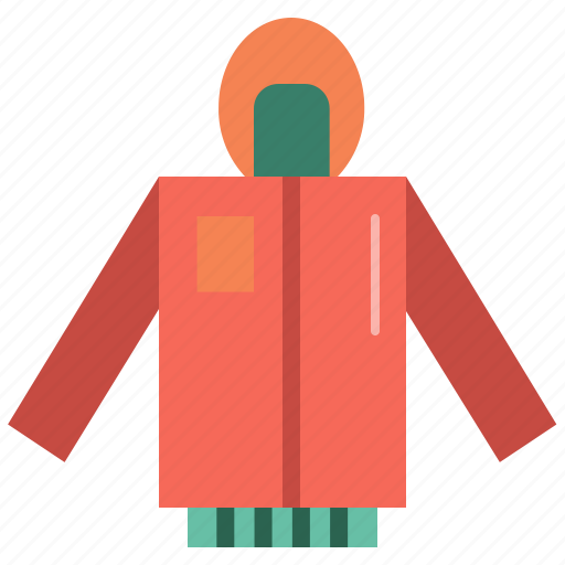 clothes, clothing, cold, fashion, jacket, weather icon