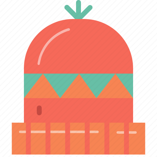 Camping, cold, hat, outdoor, weather, winter, wool icon - Download on Iconfinder