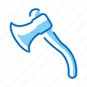ax, axe, hatchet, tool icon