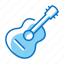 accoustic, guitar, instrument, music icon
