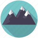 camping, equipment, landscape, mountain range, mountains, nature, outdoors icon