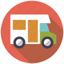 camper van, camping, equipment, motor home, outdoors icon