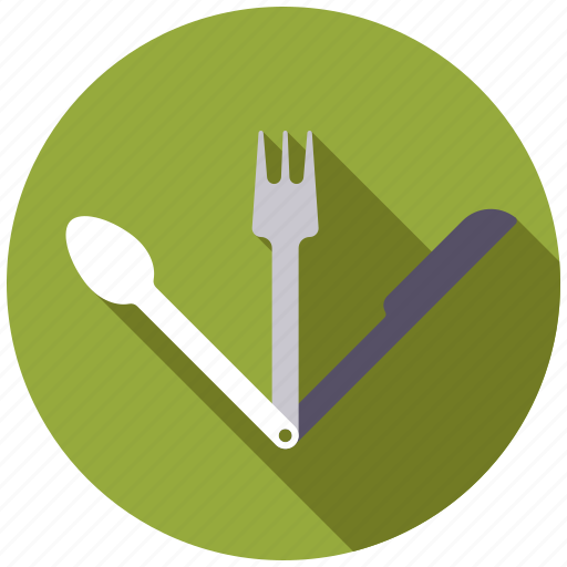 camping, cutlery, equipment, outdoors icon