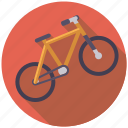 bicycle, camping, cycling, equipment, mountain bike, outdoors, sports icon