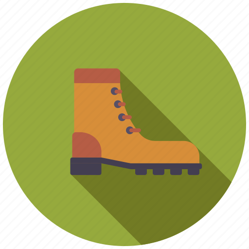 boot, camping, equipment, hiking, outdoors, shoe icon