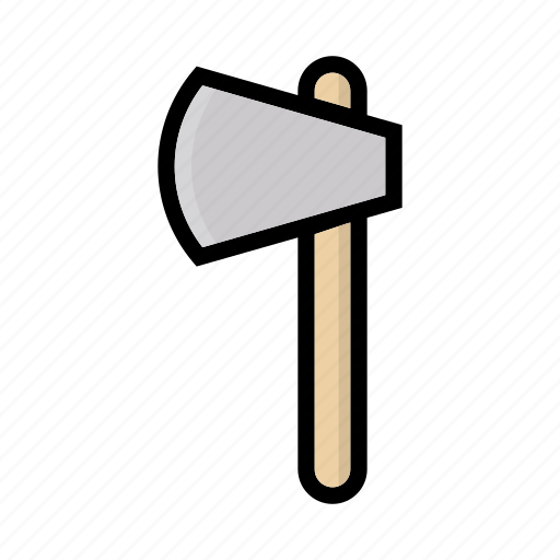 axe, camping, forest, outdoor, tool icon