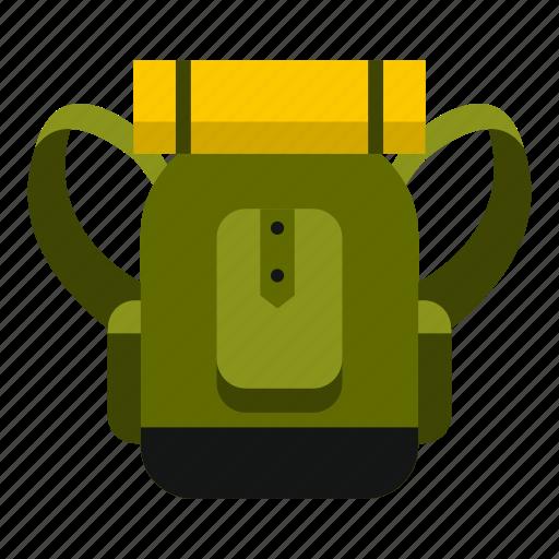 Adventure, backpack, backpacking, bag, hiking, rucksack, travel icon - Download on Iconfinder