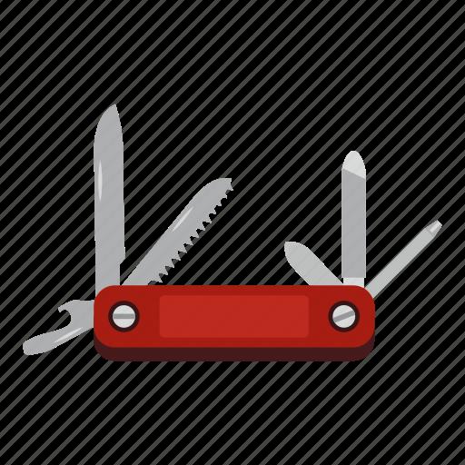 Knife, multitool, pocket, steel, survival, tool, travel icon - Download on Iconfinder