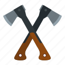 ax, axe, handle, hatchet, tool, travel, weapon icon