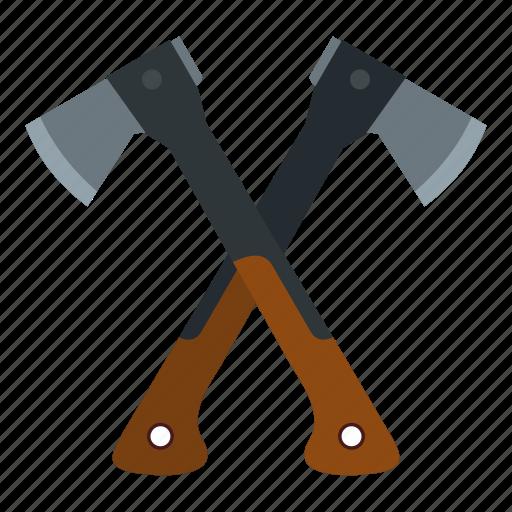 ax, axe, handle, hatchet, tool, travel, weapon icon