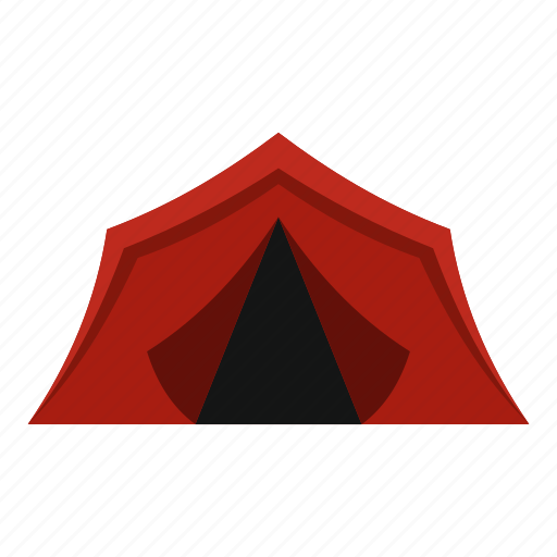 camping, house, leisure, lowpoly, tent, tourist, travel icon