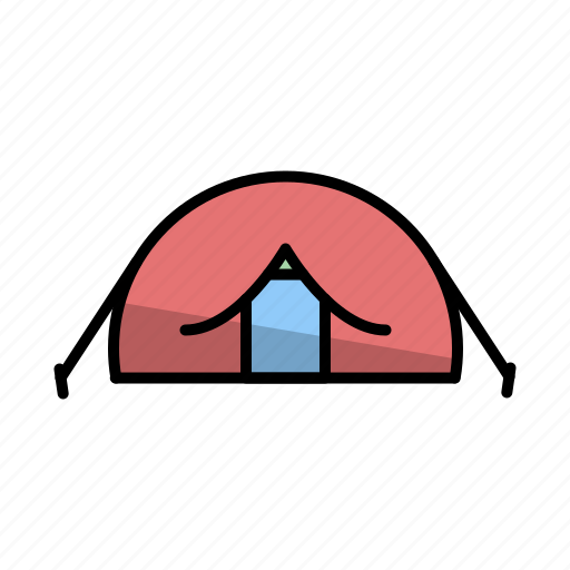 adventure, camp, camping, camping equipment, outdoor, tent, tools icon
