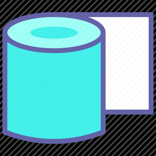 Lavatory paper, paper roll, restroom, toilet, toilet paper, toilet paper roll icon - Download on Iconfinder