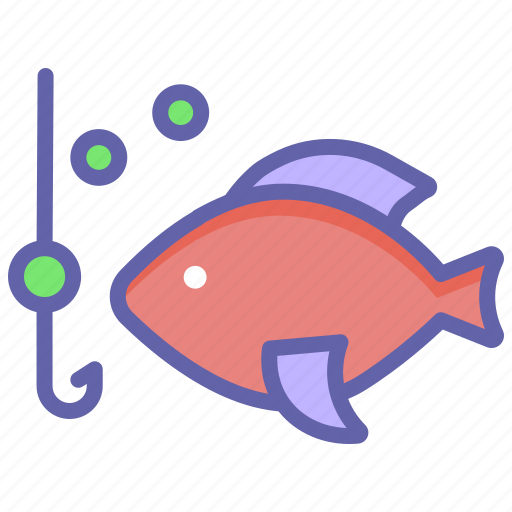 Fishing, fishing hook, hook, hunting, line, trolling icon - Download on Iconfinder