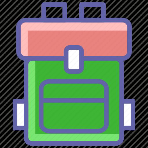 Backpack, bag, tourist, travel, trekking, trekking bag icon - Download on Iconfinder