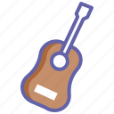 acoustic, acoustic guitar, guitar, music, music instrument, musical instrument icon