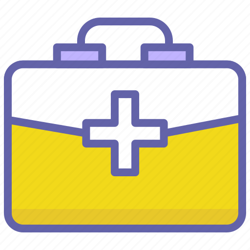 emergency, health, kit, medical, medical kit, wound icon