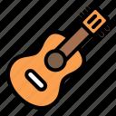 guitar, acoustic, ukulele, music