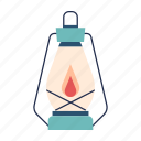 adventure, camp, camping, illuminate, lamp, lantern, light icon