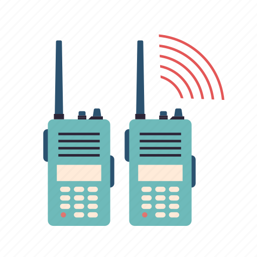 Camping, communication, hiking, radio, talkie, walkie icon - Download on Iconfinder
