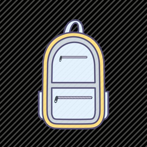 bag, bagpack, pack, travel icon