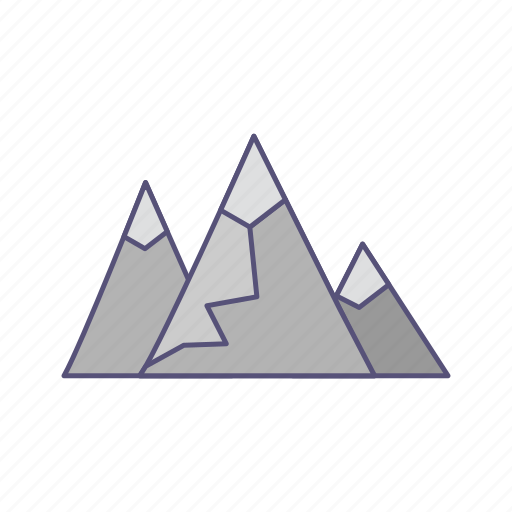 adventure, gallery, mountains icon