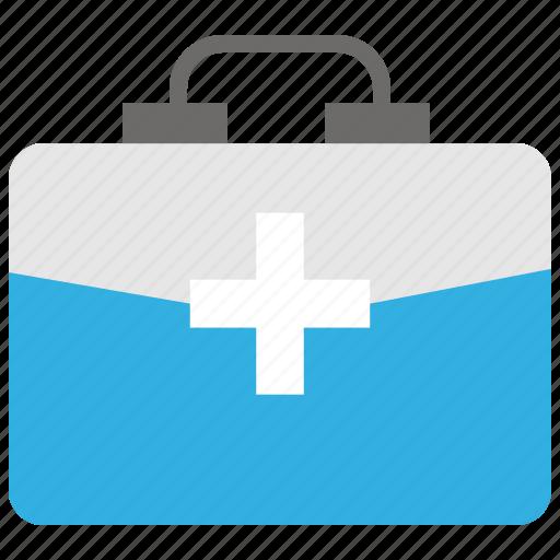 emergency, health, kit, medical, medical kit, wound icon