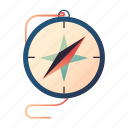 compass, direction, discovery, exploration, journey, navigation, travel icon