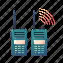 camping, communication, hiking, radio, talkie, walkie icon