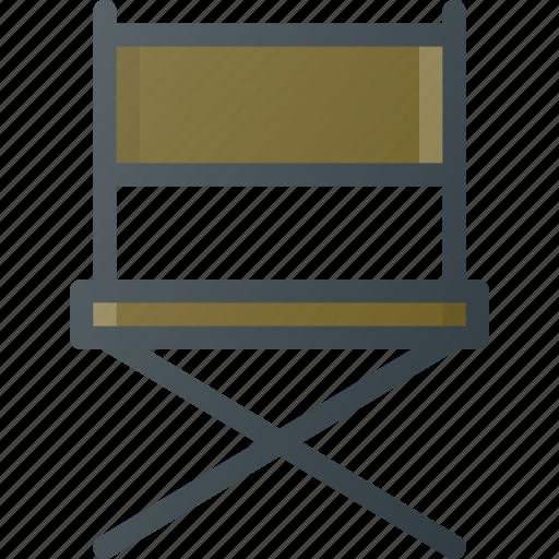 campin, fishing, seat icon