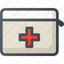 emergency, kit icon