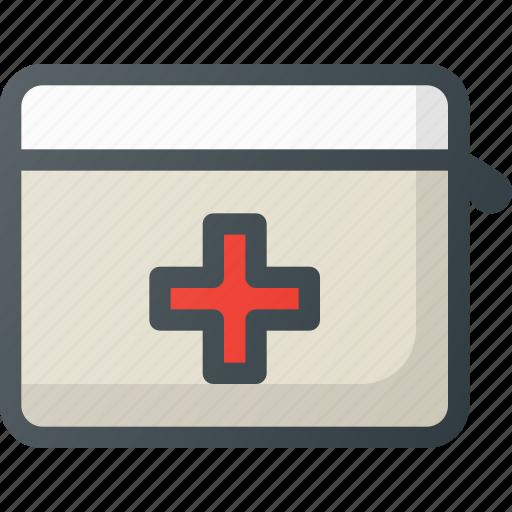 emergency, kit icon