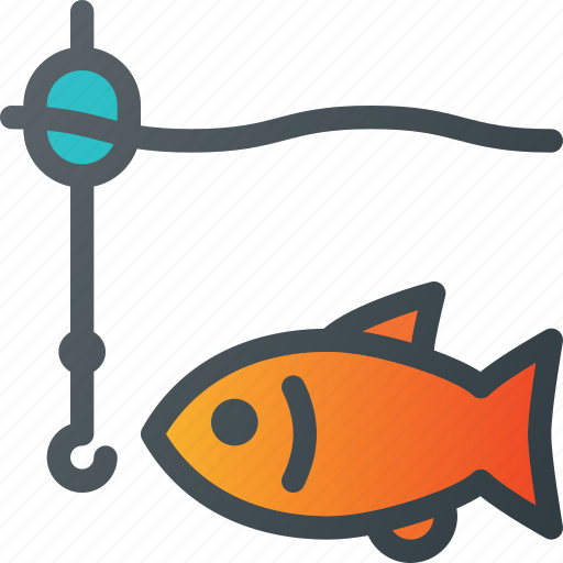 fishing, relax icon