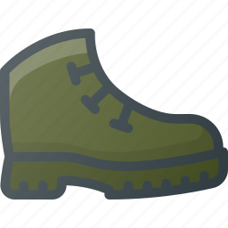 boot, boots, hiking, shoe icon